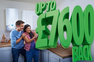 Green Deal £7600 cash back eco home